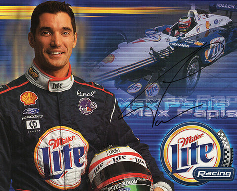 Formula One NASCAR Racer Massimiliano Max Papis Autograph Signed Promo Photo - TnTCollectibles - 1
