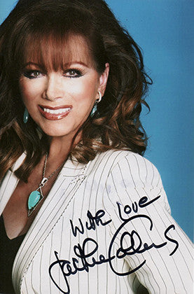World Famous Author Jackie Collins Autographed Hand Signed Framed Photo - TnTCollectibles