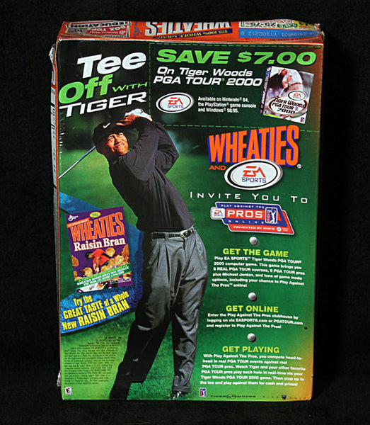 Collectible Limited Edition Golf Legend Tiger Woods Wheaties Cereal w Game Demo - TnTCollectibles - 2