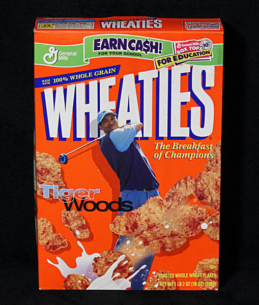 Collectible Limited Edition Golf Legend Tiger Woods Sealed Wheaties Cereal - TnTCollectibles - 1