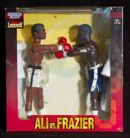 Rare Collectible Muhammad Ali Joe Frazier Extra Large Action Figures New In Box - TnTCollectibles - 1