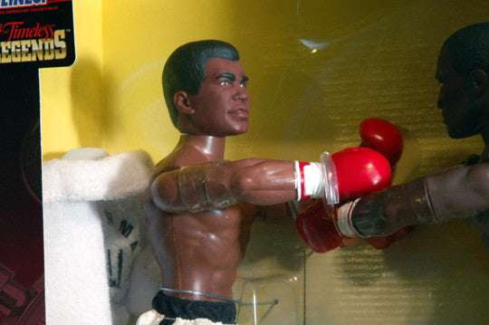 Rare Collectible Muhammad Ali Joe Frazier Extra Large Action Figures New In Box - TnTCollectibles - 4