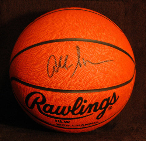 Rare 1996 NCAA Final Four Allen Iverson Autographed Hand Signed Basketball COA - TnTCollectibles - 1