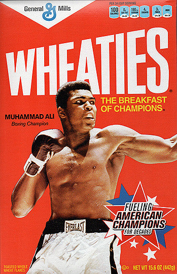Collectible Limited Edition Boxing Legend Muhammad Ali Sealed Wheaties Cereal - TnTCollectibles