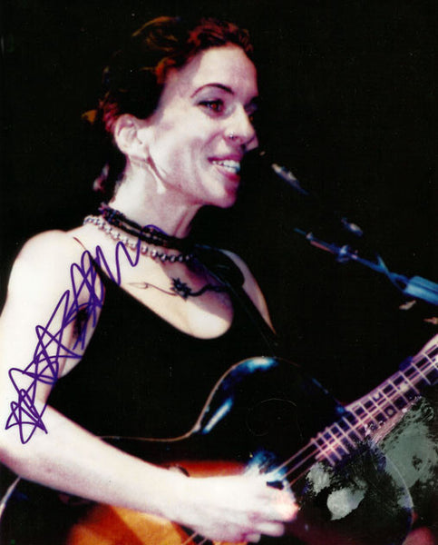 Rare Collectible Framed Ani DiFranco Autograph Hand Signed Photo and Insert - TnTCollectibles - 2