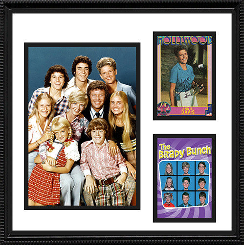 Framed Matted TV Star Ann B Davis Brady Bunch Hand Signed Autograph and Photo - TnTCollectibles