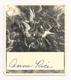 Author Anne Rice Autograph Interview with the Vampire Signed First Edition Book - TnTCollectibles - 2
