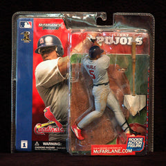 Collectible McFarlane Series 1 Albert Pujols Cardinals Rookie Action Figure NIP - TnTCollectibles