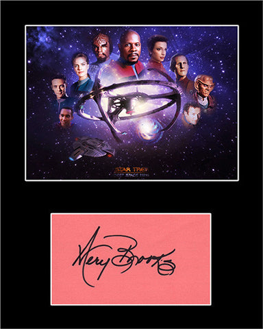 Framed Matted TV Star Avery Brooks Hand Signed Autograph and Photo - TnTCollectibles