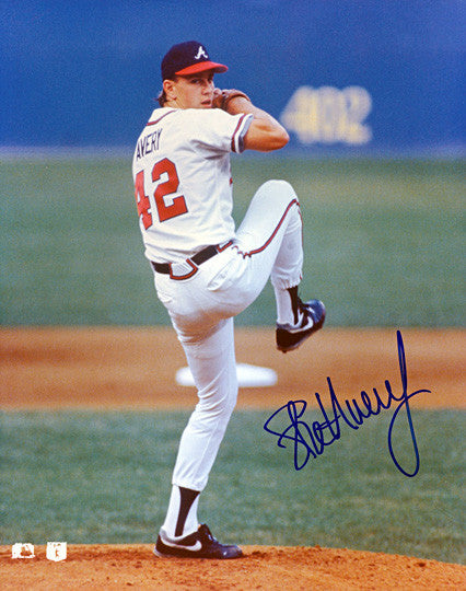 Atlanta Braves Legend Steve Avery Autographed Signed Photo - TnTCollectibles