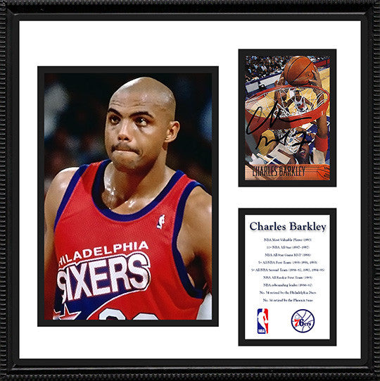 NBA Basketball Legend Charles Barkley Autograph Hand Signed Phoenix Suns Card - TnTCollectibles - 1