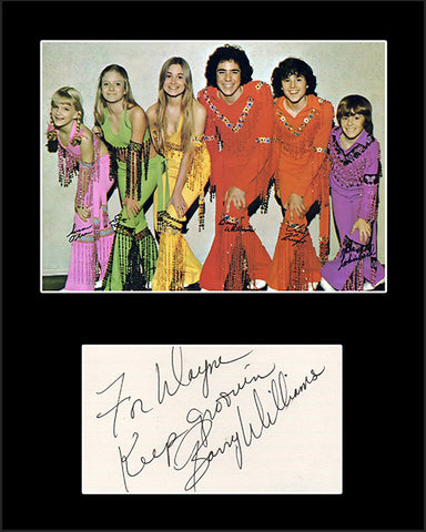 Framed Matted TV Star Barry Williams Brady Bunch Hand Signed Autograph and Photo - TnTCollectibles