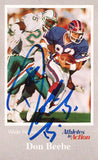 Rare Super Bowl Champion Don Beebe Autographed Christian Tr-Fold Brochure - TnTCollectibles - 1