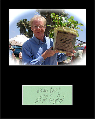 Framed Matted Movie & TV Star Ed Begley Jr Hand Signed Autograph and Photo - TnTCollectibles