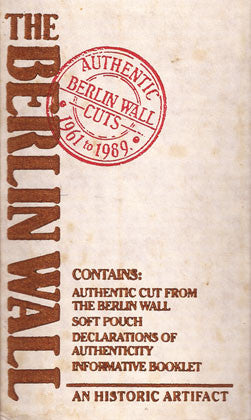 Historical Authentic Original Piece of the Berlin Wall with Authentication - TnTCollectibles - 2