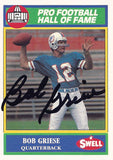 Rare Collectible 2x Super Bowl Champion Bob Griese Autographed Hand Signed Card - TnTCollectibles - 1