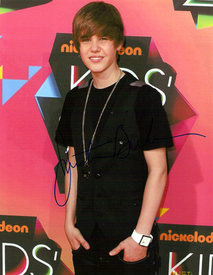Hot Collectible Justin Bieber Autographed Hand-Signed 8x10 Photo - TnTCollectibles