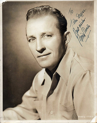 Rare Antique Bing Crosby Autograph Inscribed Hand Signed Photo - TnTCollectibles