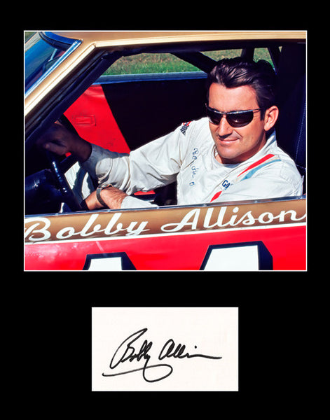 Rare Collectible NASCAR Racing Legend Bobby Allison Autograph and Photo - TnTCollectibles
