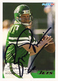 Football Legend Boomer Esiason Autograph Hand Signed New York Jets Card 353 - TnTCollectibles - 1