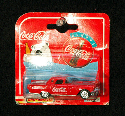 Vintage Coke Collectible Coca Cola 200 Series 1957 Ford Thunderbird Diecast Car - TnTCollectibles