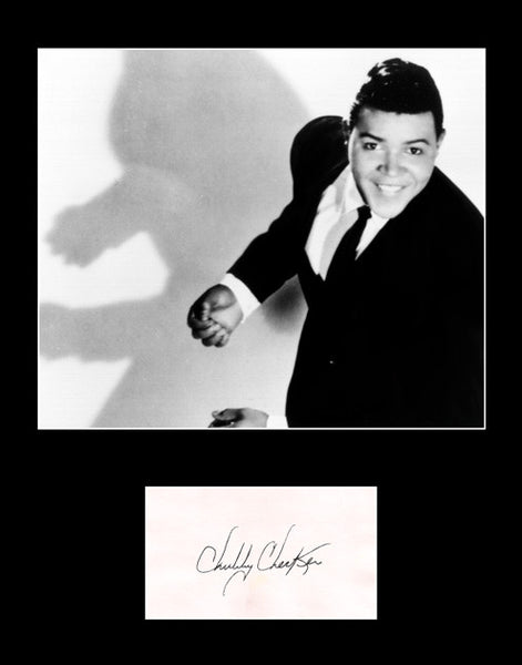 Rare Collectible Rock and Roll Legend Chubby Checker Signed Autograph Photo - TnTCollectibles