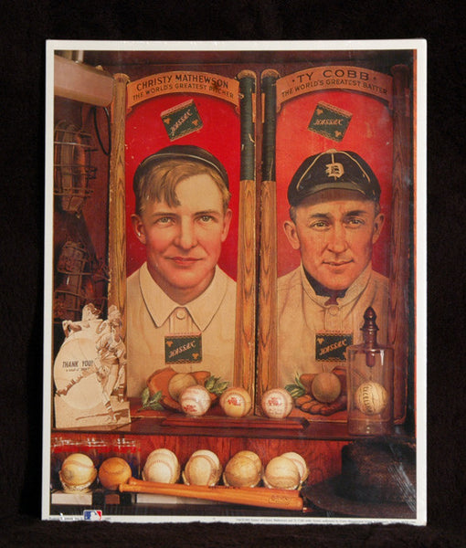 Sealed Collectible Ty Cobb & Christy Mathewson Historic Baseball Reprint 1909 - TnTCollectibles - 1