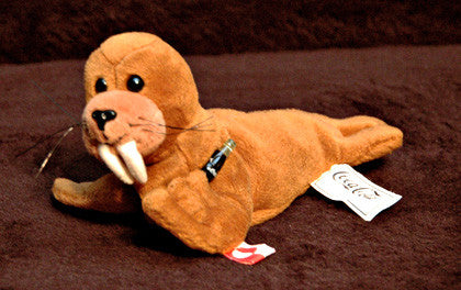 Collectible Coca Cola International Waller the Walrus Coke Plush Greenland 0242 - TnTCollectibles