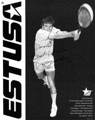 Collectible Tennis Legend Jimmy Connors Autographed Inscribed Hand Signed Photo - TnTCollectibles