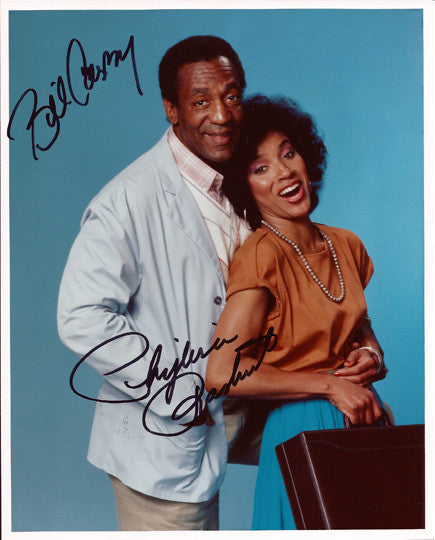 Collectible TV Legend Bill Cosby and Phylicia Rashad Dual Autograph Hand Signed Photo - TnTCollectibles