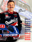 4 Page NASCAR Legend Dale Jarrett Autograph Hand Signed Promo Material 1 - TnTCollectibles - 1