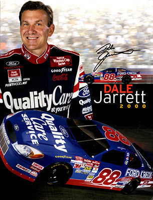 4 Page NASCAR Legend Dale Jarrett Autograph Hand Signed Promo Material 2 - TnTCollectibles - 1