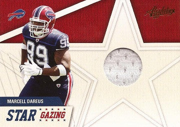 Rare Marcell Dareus Game Worn Jersey Buffalo Bills Absolute Memorabilia Card 3 - TnTCollectibles - 1