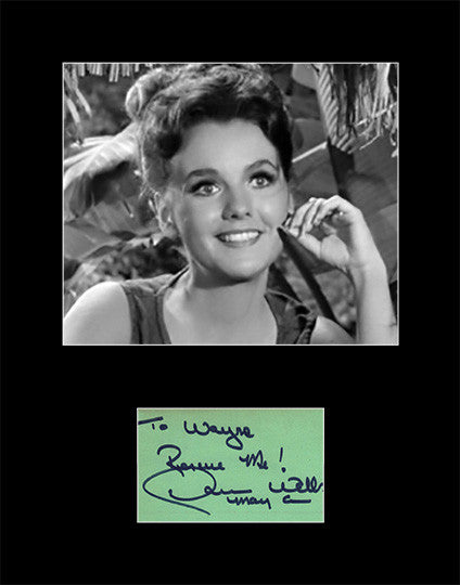Framed Matted TV and Film Star Dawn Wells Hand Signed Autograph and Photo - TnTCollectibles