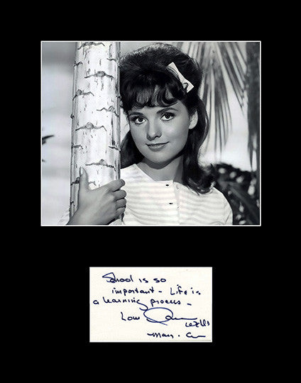 Framed Matted TV and Film Star Dawn Wells Hand Signed Autograph and Photo 2 - TnTCollectibles