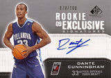 Collectible Rookie Sensation Dante Cunningham Autographed Signed Basketball Card SN /100 - TnTCollectibles - 1