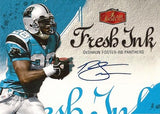 2006 Deshaun Foster Autograph 2006 Fleer Flair Showcase Fresh Ink Panthers Card - TnTCollectibles - 1