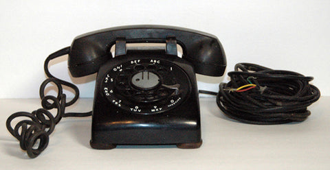 Classic 1954 Bell Telephone Co. Rotary Desk Telephone made by Western Electric w/ metal dial - TnTCollectibles - 1
