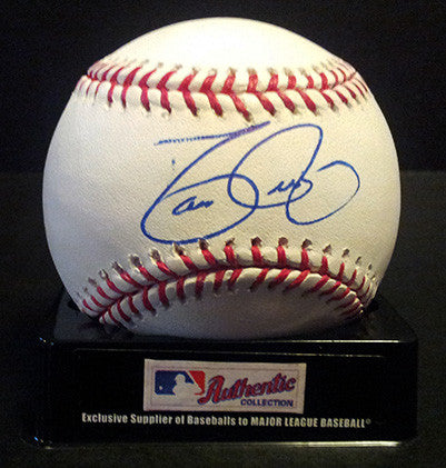 2x World Series Champion David Justice Autograph Hand Signed Baseball - TnTCollectibles - 1