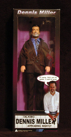 Rare Collectible Dennis Miller 2004 Talking Action 12 inch Action Figure Doll - TnTCollectibles - 1