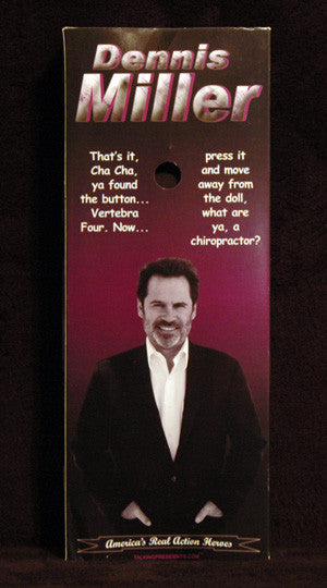 Rare Collectible Dennis Miller 2004 Talking Action 12 inch Action Figure Doll - TnTCollectibles - 2