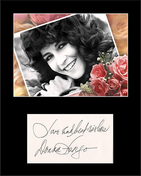 Country Music Star Donna Fargo Framed Matted Signed Autograph and Photo 2 - TnTCollectibles