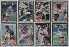 1985 Donruss 60 Baseball Cards Jumbo Action ALL STAR Card Set - TnTCollectibles