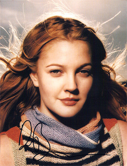 RARE Drew Barrymore Autographed Signed Photo - TnTCollectibles