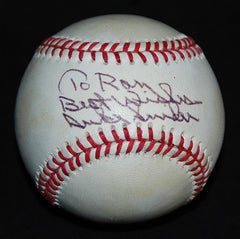 2 x World Series Champion Duke Snider Autograph Hand Signed Baseball - TnTCollectibles - 1