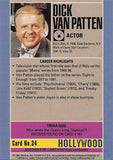 Rare Collectible TV Star Dick Van Patten Autograph Hollywood Walk of Fame Card - TnTCollectibles - 2