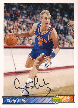 Collectible Craig Ehlo Autograph Hand Signed Cleveland Cavaliers UD Card #212 - TnTCollectibles