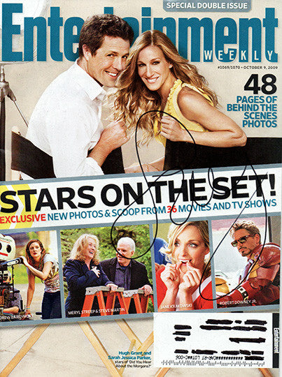 Rare Sarah Jessica Parker Autograph Hand Signed Entertainment Weekly Magazine - TnTCollectibles