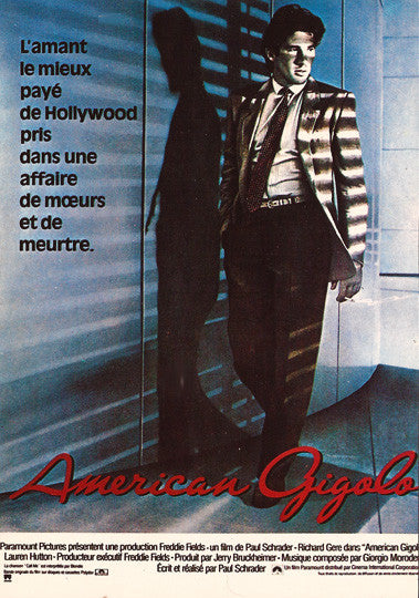 Vintage Movie Star Richard Gere American Gigolo Postcard - TnTCollectibles - 1