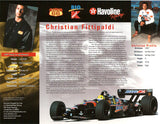 Christian Fittipaldi Autographed Hand-Signed Promo Print - TnTCollectibles - 2